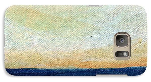 Sun Swept Coast- Abstract Seascape Galaxy S7 Case