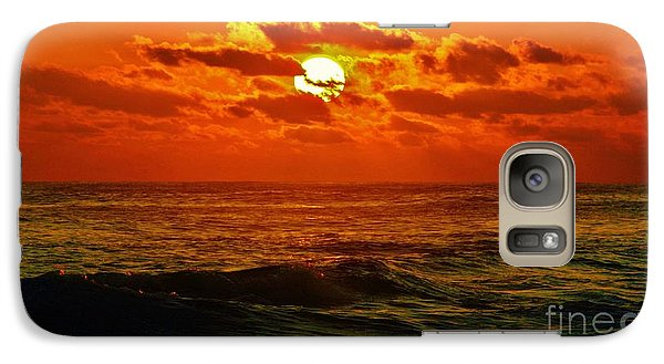 Galaxy Case featuring the photograph Sun Tinted Sea by Craig Wood