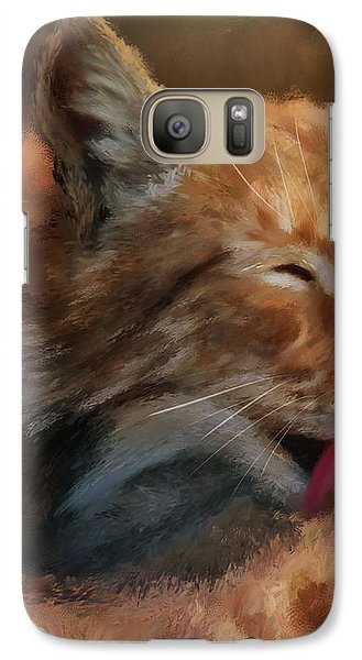 Galaxy Case featuring the photograph Sunbathing by Lois Bryan