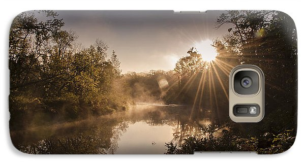 Galaxy Case featuring the photograph Sunbeams  by Annette Berglund