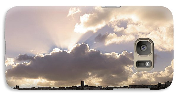 Galaxy Case featuring the photograph Sunbeams Over Church In Color by Nicholas Burningham