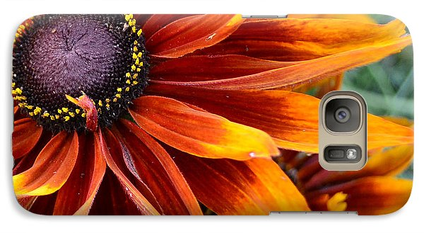 Galaxy Case featuring the photograph Sunburst by Larry Bishop