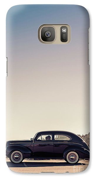 Galaxy Case featuring the photograph Sunday Drive To The Beach by Edward Fielding
