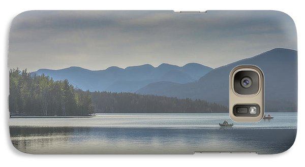 Galaxy Case featuring the photograph Sunday Morning Fishing by Chris Lord