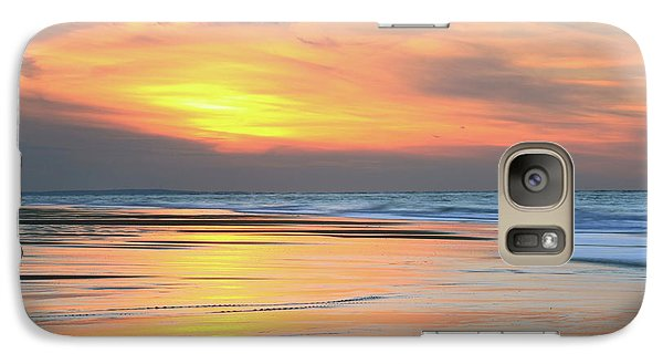 Galaxy Case featuring the photograph Sundown At Race Point Beach by Roupen  Baker
