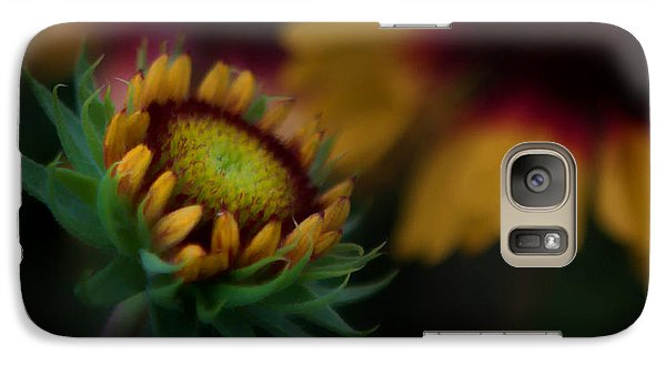 Galaxy Case featuring the photograph Sunflower by Cherie Duran