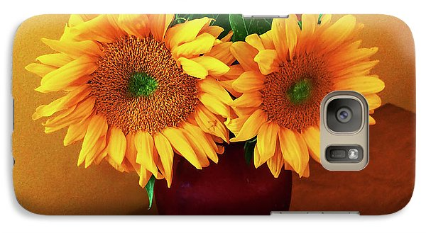 Sunflower Corner Galaxy S7 Case