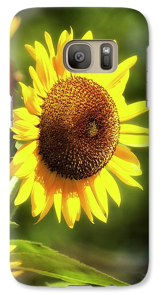 Galaxy Case featuring the photograph Sunflower Field by Christina Rollo