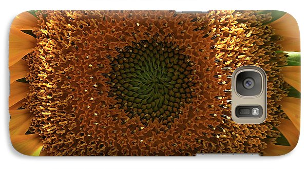 Galaxy Case featuring the photograph Sunflower  by Marna Edwards Flavell