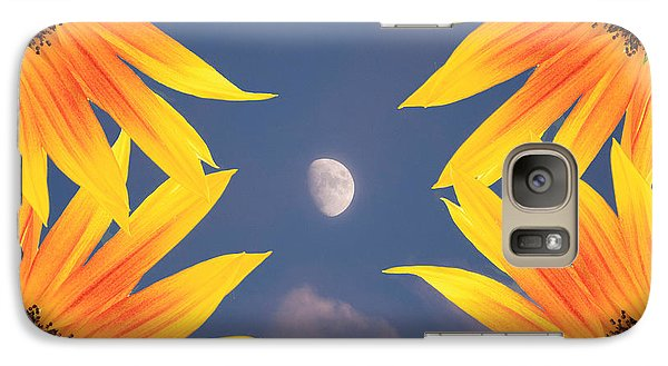 Sunflower Moon Galaxy S7 Case by James BO  Insogna