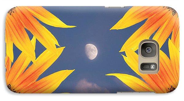 Sunflower Moon Galaxy S7 Case