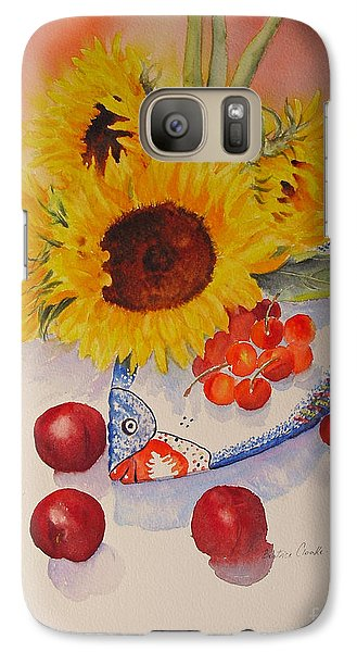 Sunflowers Galaxy S7 Case by Beatrice Cloake