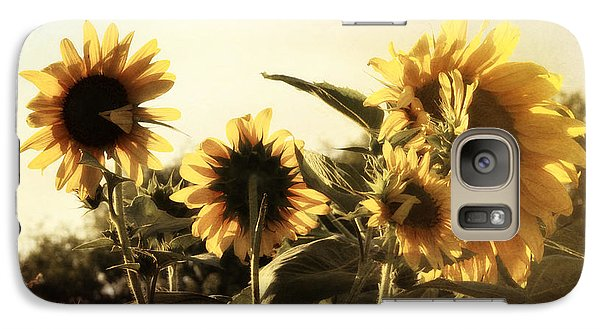 Galaxy Case featuring the photograph Sunflowers In Tone by Glenn McCarthy Art and Photography