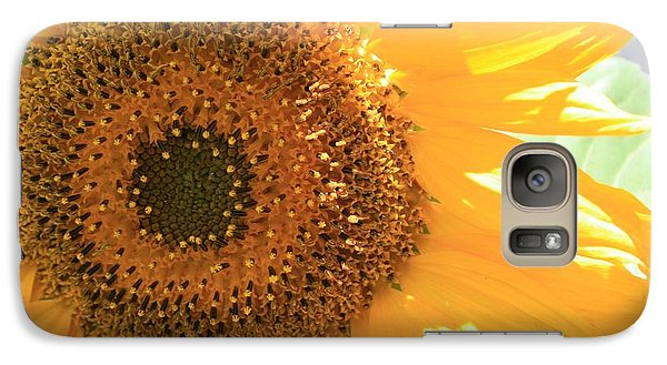 Galaxy Case featuring the photograph Sunflowers  by Marna Edwards Flavell