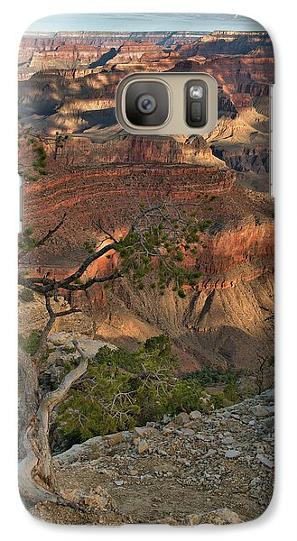 Galaxy Case featuring the photograph Sunkissed Canyon by Stephen  Vecchiotti