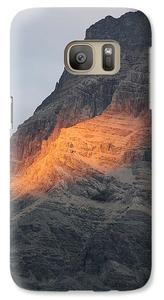 Galaxy Case featuring the photograph Sunlight Mountain by Mary Mikawoz
