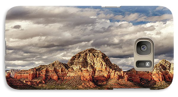Galaxy Case featuring the photograph Sunlight On Sedona by James Eddy