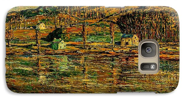 Sunlight On The Harlem River 1919 Galaxy S7 Case