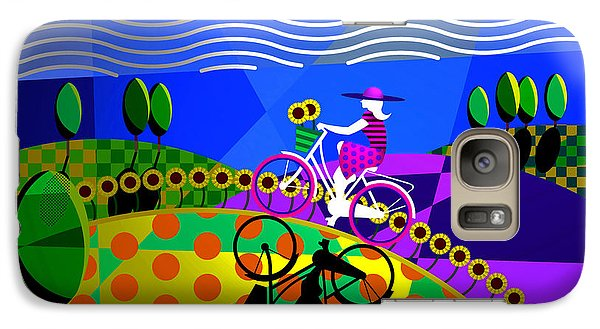 Galaxy Case featuring the digital art Sunny Acres by Randall Henrie