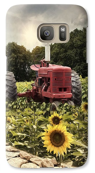 Galaxy Case featuring the photograph Sunny Acres by Robin-Lee Vieira