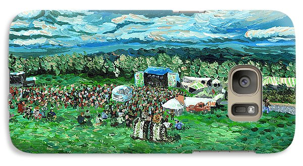 Galaxy Case featuring the painting Sunny Afternoon At Moedown by Denny Morreale