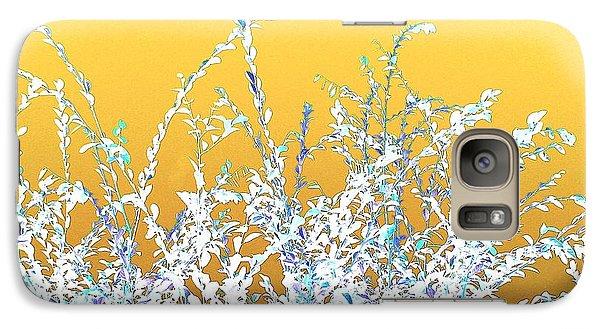 Galaxy Case featuring the digital art Sunny Austin Bush by Ellen O'Reilly