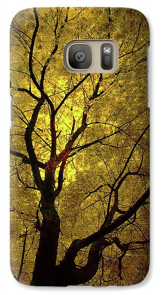 Galaxy Case featuring the painting Sunny Branches by Gray  Artus