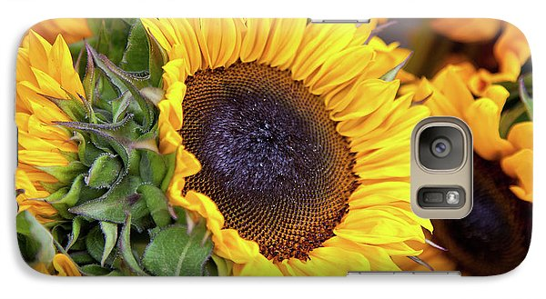 Galaxy Case featuring the photograph Sunny Face by Susan Cole Kelly