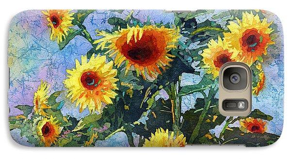 Galaxy Case featuring the painting Sunny Sundance by Hailey E Herrera