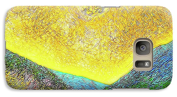 Sunny Trail - Marin California Galaxy S7 Case by Joel Bruce Wallach