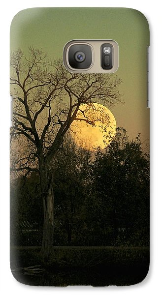 Galaxy Case featuring the photograph November Supermoon  by Chris Berry