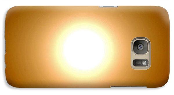 Galaxy Case featuring the photograph Sunpower by Beto Machado
