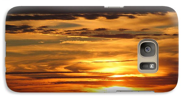 Galaxy Case featuring the photograph Sunrise 1 by David Dunham