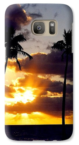 Galaxy Case featuring the photograph Sunrise-23 by Denise Moore