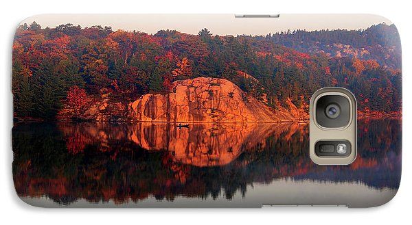 Galaxy Case featuring the photograph Sunrise And Harmony by Debbie Oppermann