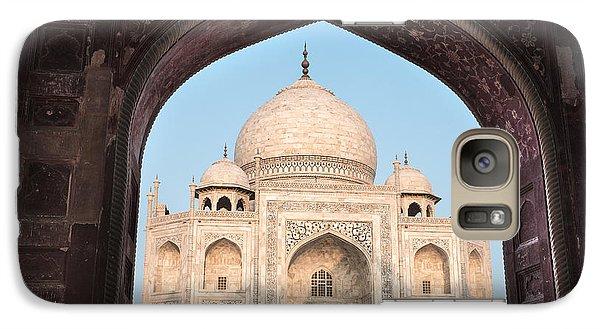 Sunrise Arches Of The Taj Mahal Galaxy S7 Case