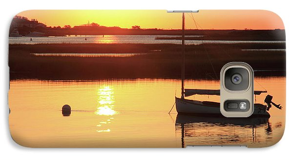 Galaxy Case featuring the photograph Sunrise At Bass River by Roupen  Baker