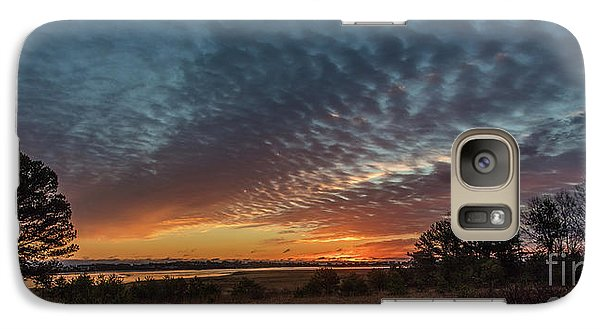 Galaxy Case featuring the photograph Sunrise At Biddeford Pool,maine by David Bishop