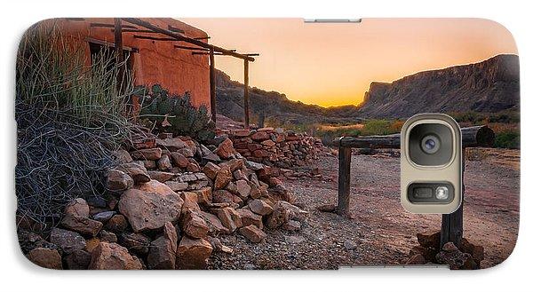 Galaxy Case featuring the photograph Sunrise At Contrabando by Allen Biedrzycki