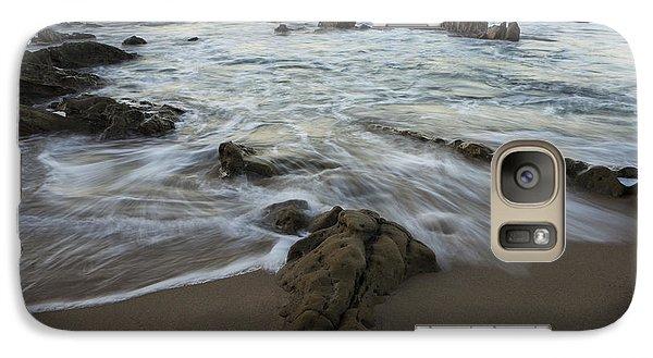 Galaxy Case featuring the photograph Sunrise At Laguna Beach by Keith Kapple