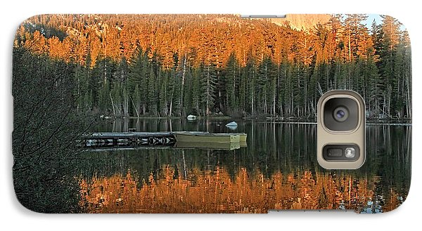 Galaxy Case featuring the photograph Sunrise At Lake Mamie by Donna Kennedy