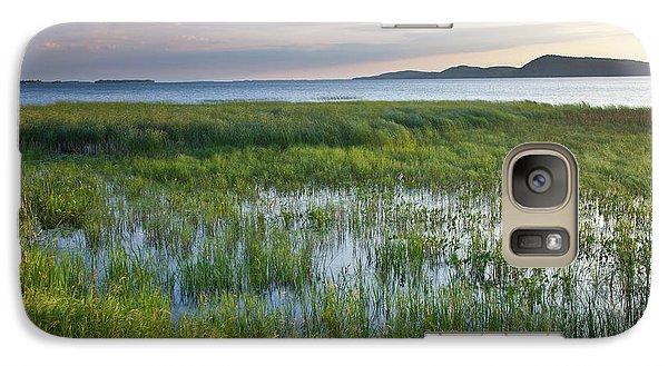 Galaxy Case featuring the photograph Sunrise At Sandbar  by Susan Cole Kelly