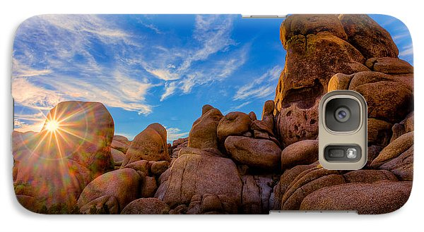 Galaxy S7 Case featuring the photograph Sunrise At Skull Rock by Rikk Flohr