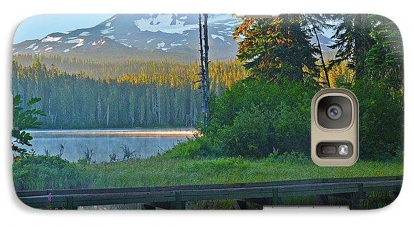 Sunrise At Takhlakh Lake Under Mt Adams Galaxy S7 Case