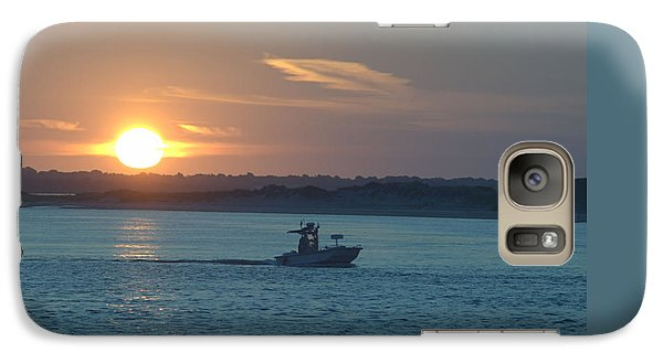 Galaxy Case featuring the photograph Sunrise Bassing by  Newwwman