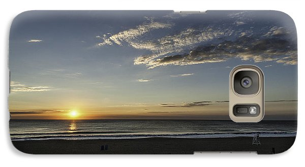 Galaxy Case featuring the photograph Sunrise Beach Oc by Jim Moore