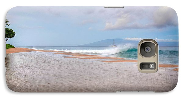Galaxy Case featuring the photograph Sunrise Break by Kelly Wade