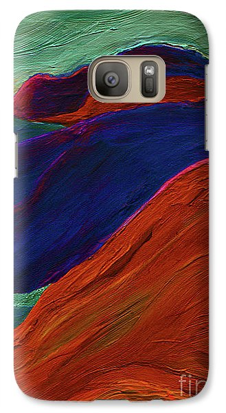Galaxy Case featuring the painting Sunrise Castle 2  by First Star Art