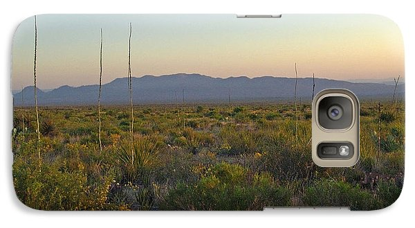 Galaxy Case featuring the photograph Sunrise Christmas Mountains by Kerry Beverly