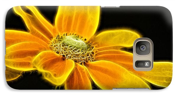 Galaxy Case featuring the photograph Sunrise Daisy by Cameron Wood